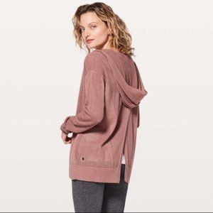 Lululemon Still Movement Wrap Split Back Cardigan